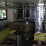 A California Zephyr kilátókocsi bárpultja