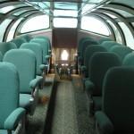 California Zephyr kilátókocsi emelet