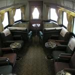 California Zephyr kilátókocsi lounge