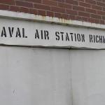 A múzeumnak helyet adó légibázis felirata